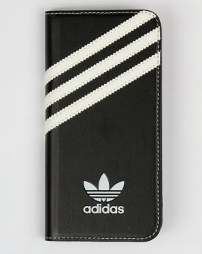 Adidas Originals iPhone 6 Booklet Case Black/White