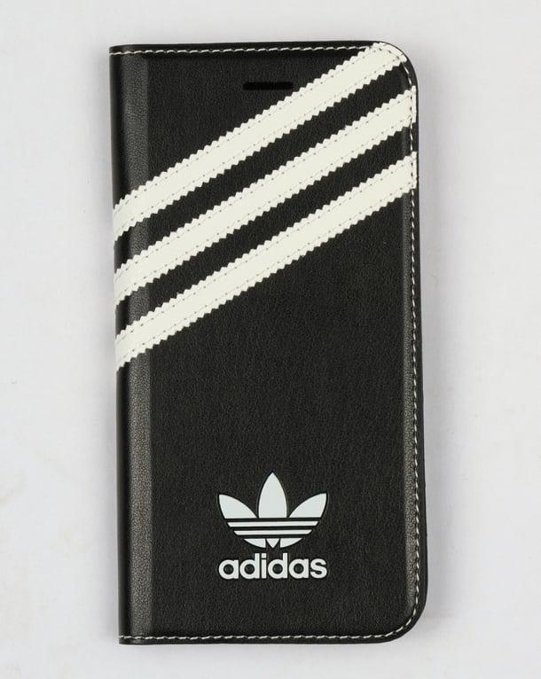 Adidas Originals iPhone 7 Booklet Case Black/White