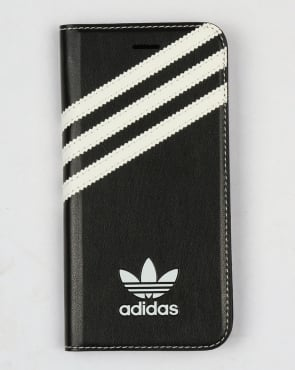 Adidas Originals iPhone 7 Booklet Case Black/White