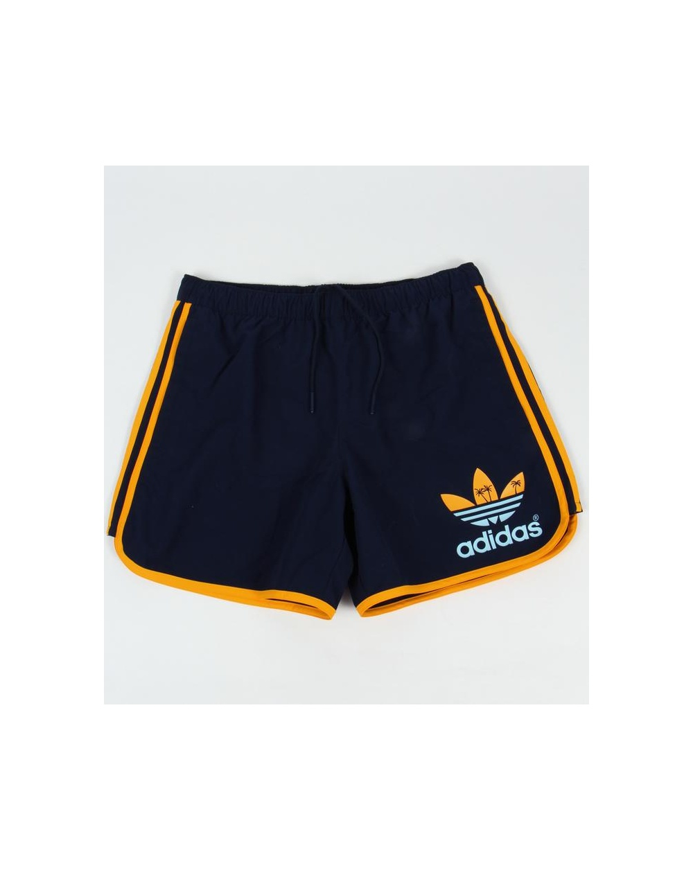 Adidas Originals Island Escape Swim Shorts Navy - adidas