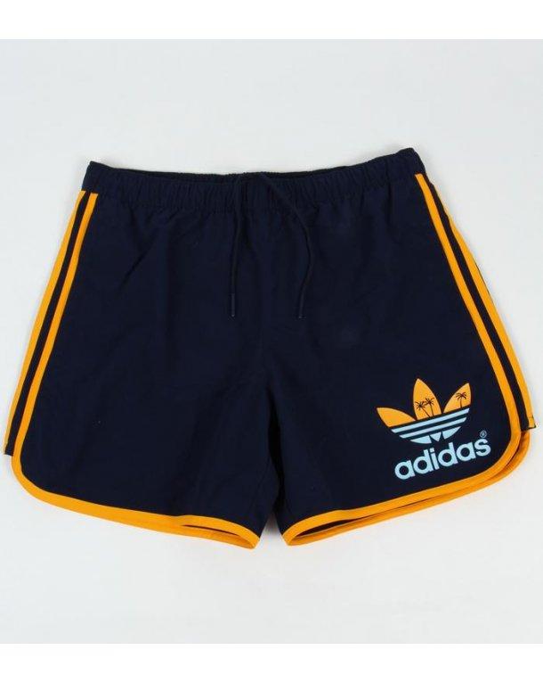 Adidas Originals Island Escape Swim Shorts Navy