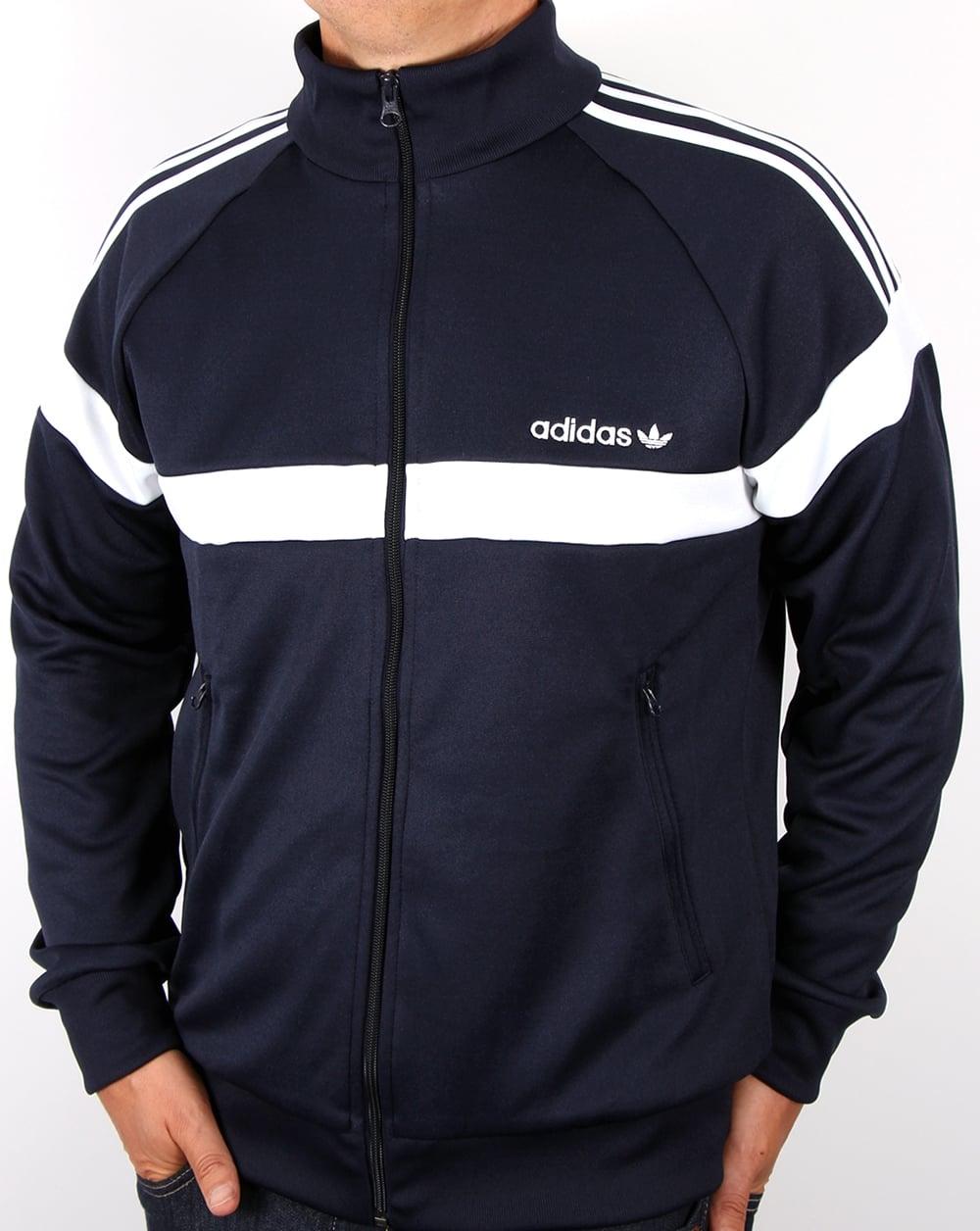 e1ad2e8f8941 adidas Originals Adidas Originals Itasca Track Top Navy