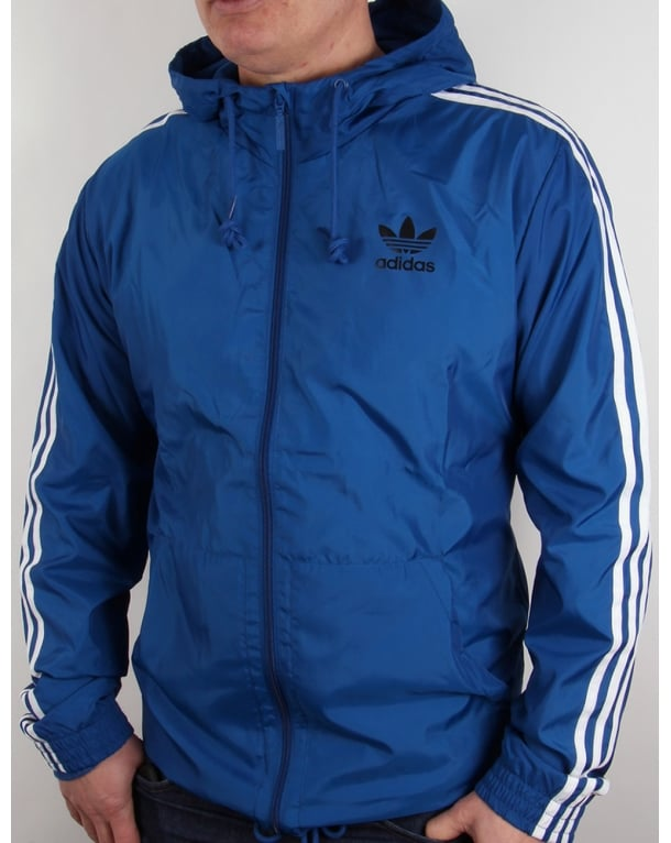 Adidas Originals Itasca Windbreaker Eqt Blue