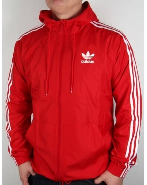 Adidas Originals Itasca Windbreaker Red