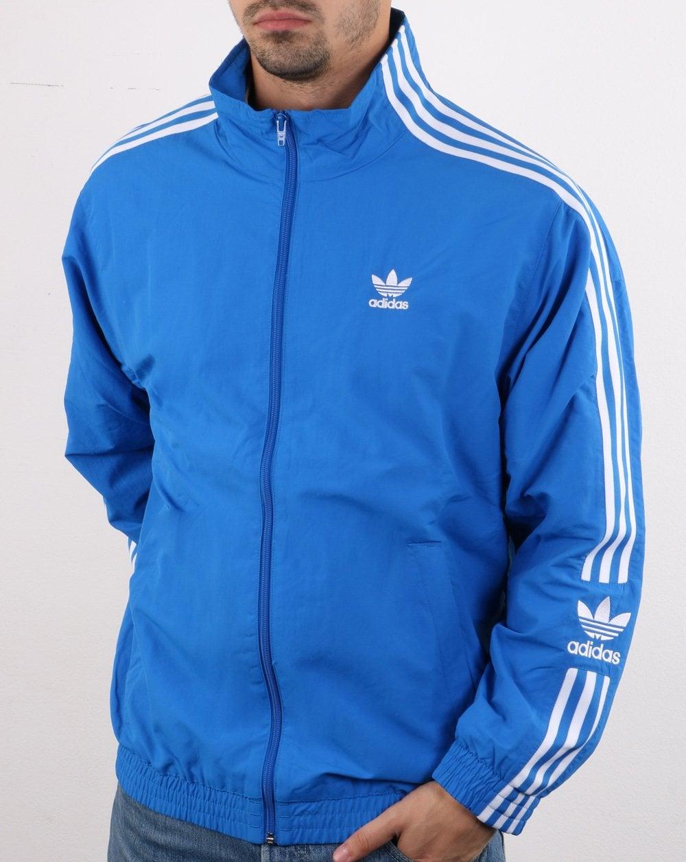 Diffidenza lotto Pilastro  Adidas Originals Jacket Bluebird Blue - adidas At 80s Casual Classics