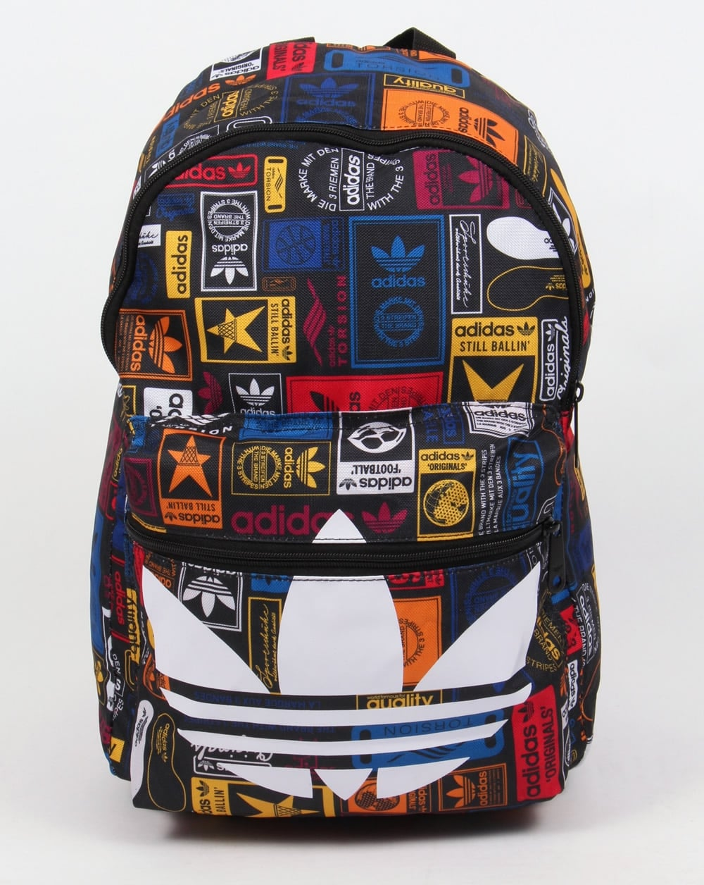 37e2496a4f adidas Originals Adidas Originals Label Backpack Multi
