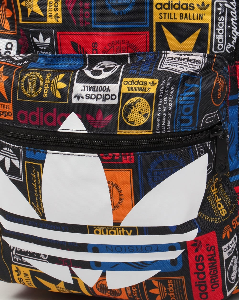 adidas colourful backpack