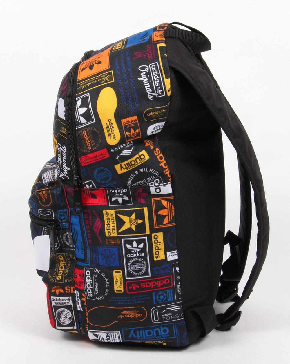 Adidas Originals Label Backpack Multi Bag Shoulder Holdall Mens