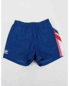Adidas Originals Linear FB Shorts EQT Blue
