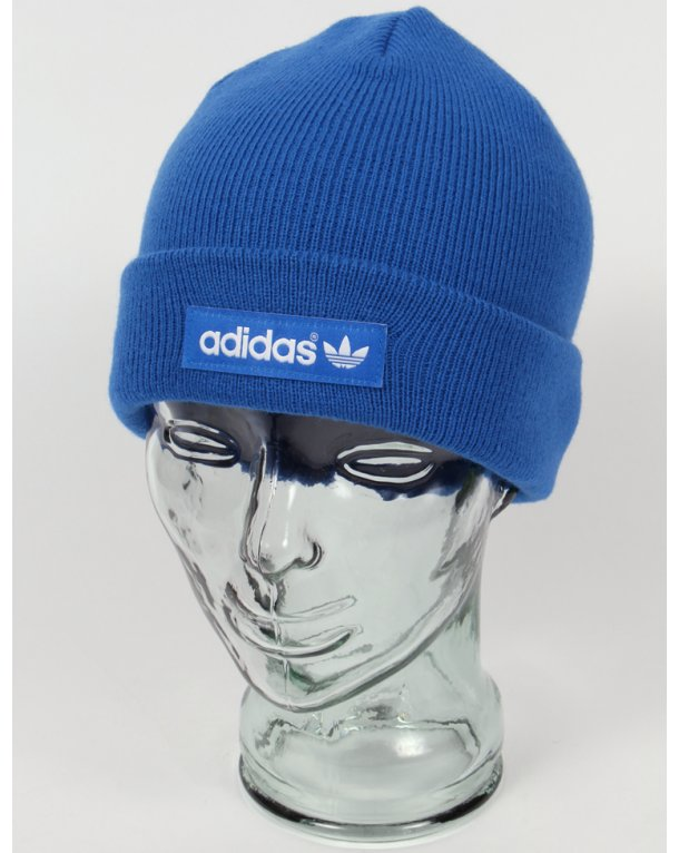Adidas Originals Logo Beanie Bluebird Blue