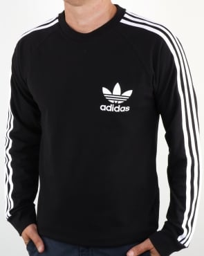 Adidas Originals Long Sleeve Pique T Shirt Black