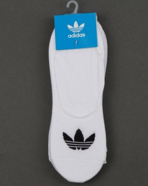 Adidas Originals No Show Socks 3 Pack White/black