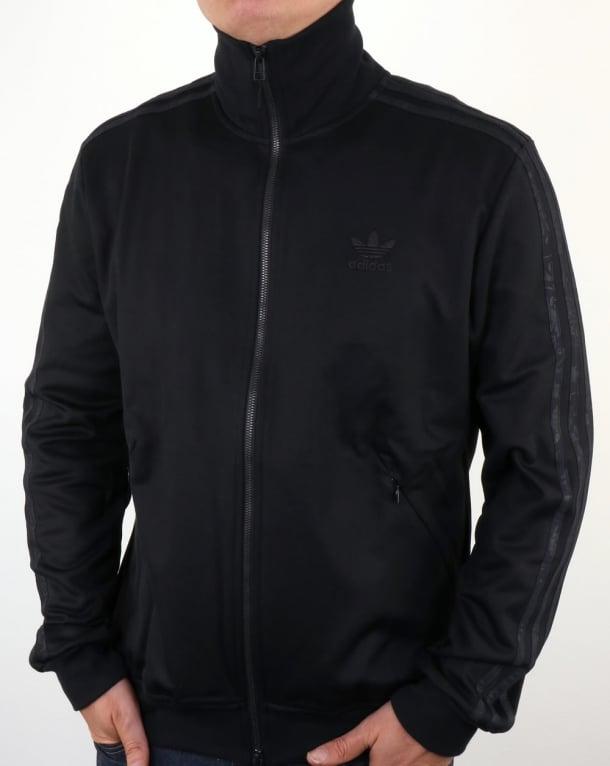 Adidas Originals Ob Beckenbauer Track Top Black Tracksuit