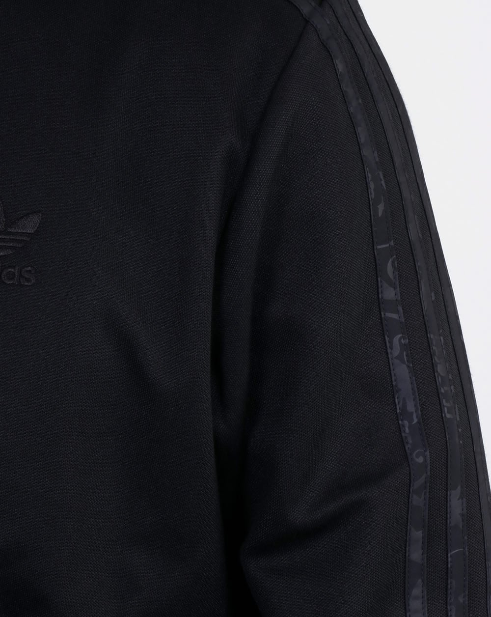 adidas originals beckenbauer track top black