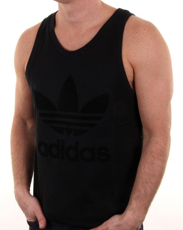 Adidas Originals Ob Tonal Tank Top Black