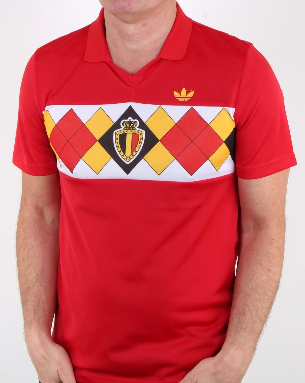 c9317f3e8 adidas Originals Adidas Originals Old Skool Belgium Jersey Victory Red