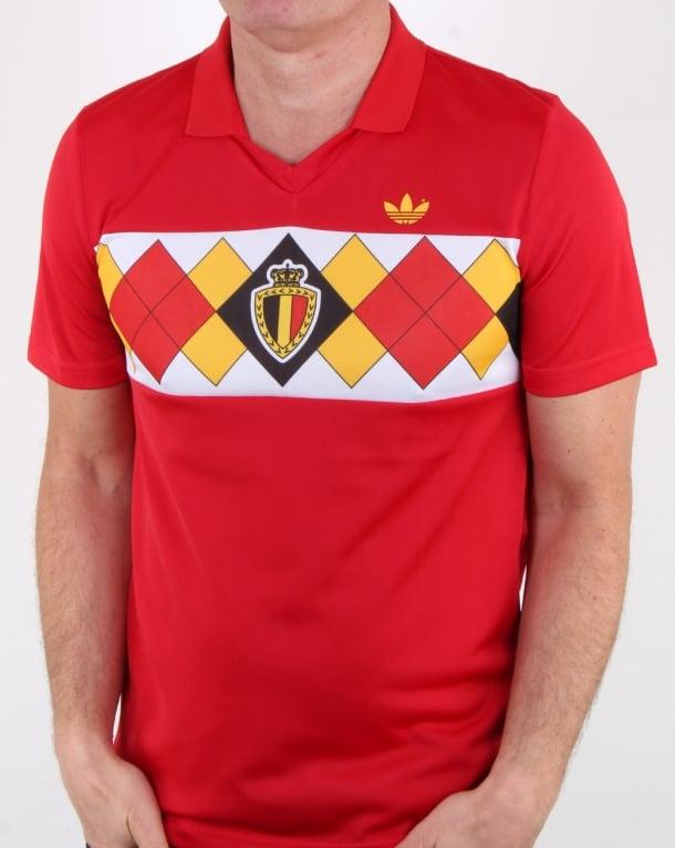 Adidas Originals Old Skool Belgium Jersey Victory Red