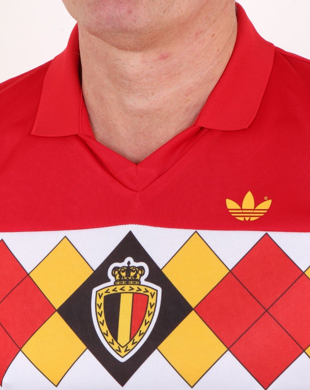 6043a1bbe Adidas Originals Old Skool Belgium Jersey Victory Red
