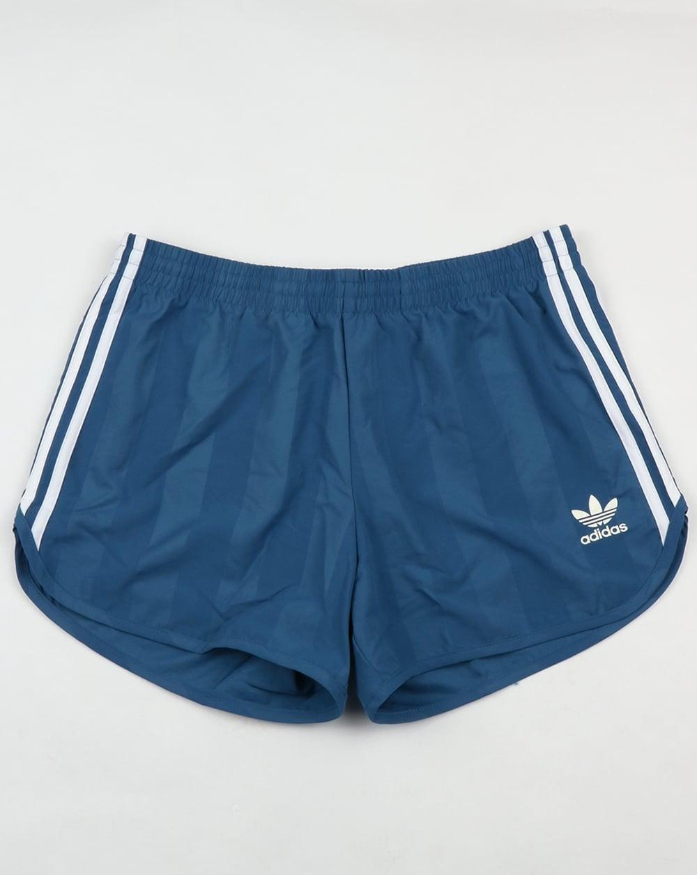 Cobertizo callejón espada  Adidas Originals Football Shorts Core Blue,retro,shiny,polyester,mens