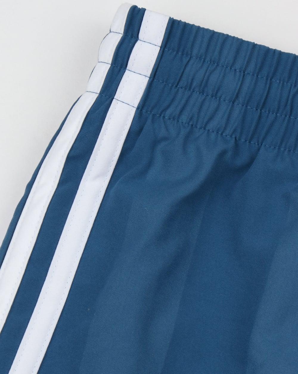 6dc9bdeea Adidas Originals Football Shorts Core Blue,retro,shiny,polyester,mens