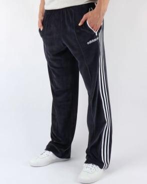 Adidas Originals OS Velour Beckenbaeur Track Pants Legend Ink