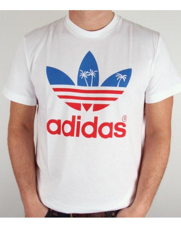 adidas trefoil logo t shirt