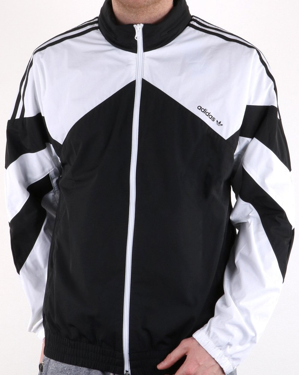 fb0a1453b Adidas Originals Palmeston Windbreaker Black/white, Mens,Retro,Classic
