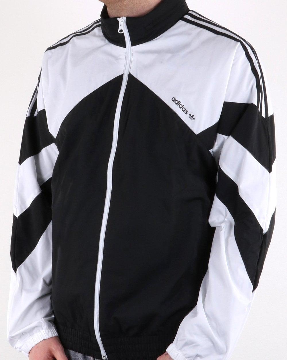 9ea5bd9b29 Adidas Originals Palmeston Windbreaker Black white