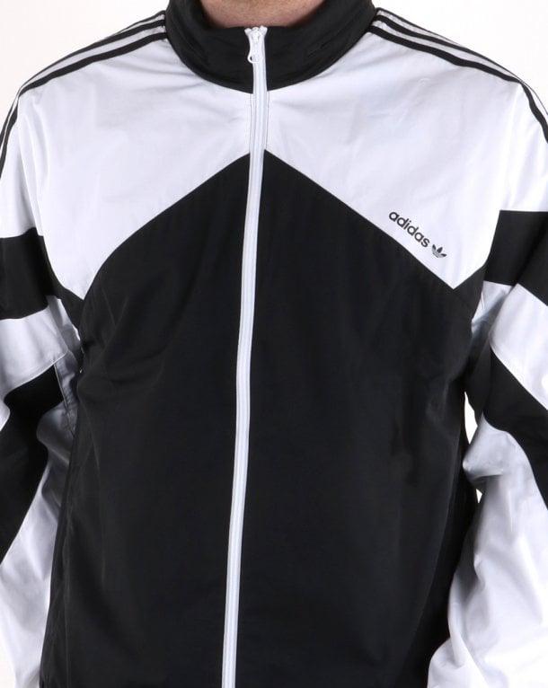 mejor servicio nueva temporada en stock Adidas Originals Palmeston Windbreaker Black/white, Mens,Retro,Classic