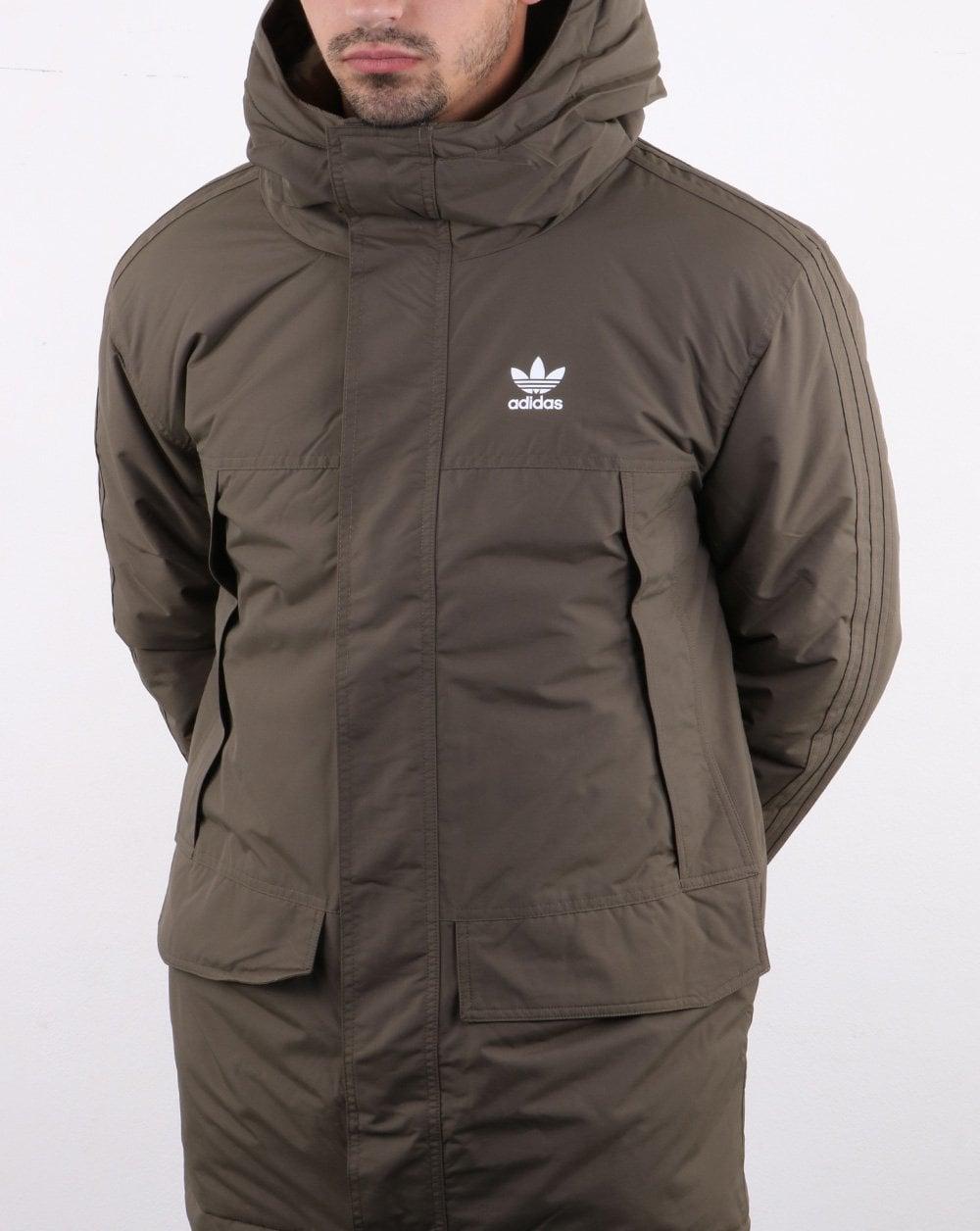 Adidas Originals Parka Padded Jacket Branch