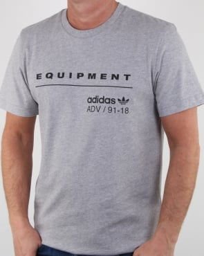 Adidas Originals Pdx Classic T Shirt Grey Heather