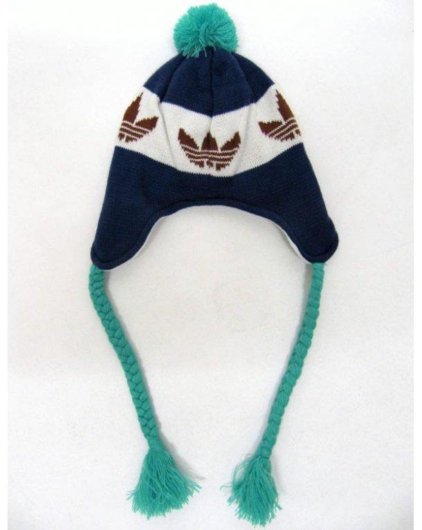 Adidas Originals Peruvian Style Beanie Marine Blue