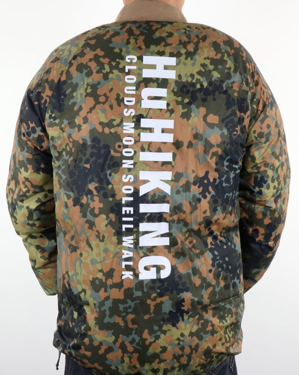 9a50e2228 Adidas Originals Pharrell Williams Hu Hiking SST Winter Jacket Camo