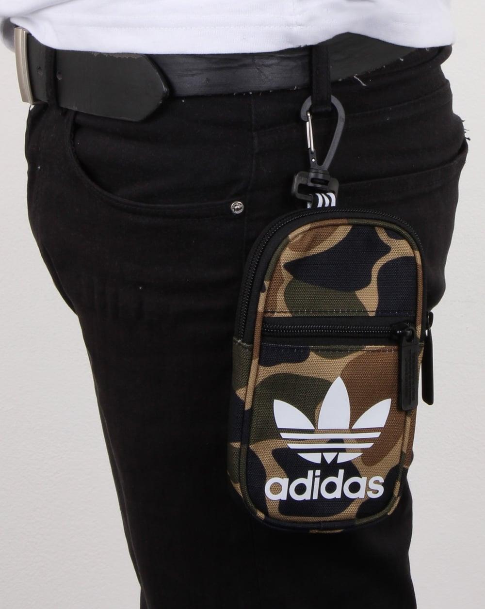 83d954b3459e adidas Originals Adidas Originals Pouch Bag Camo