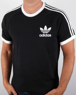 Adidas Originals Retro 3 Stripes T-shirt Black