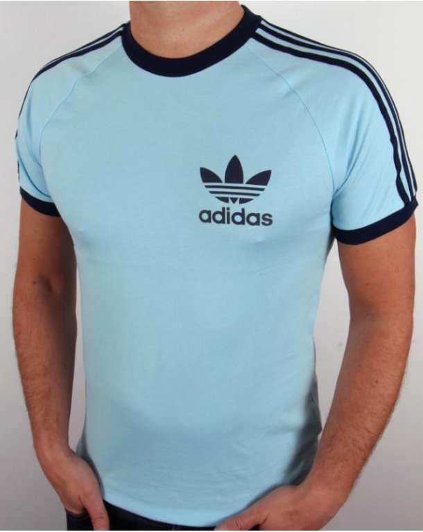 adidas originals california t shirt navy