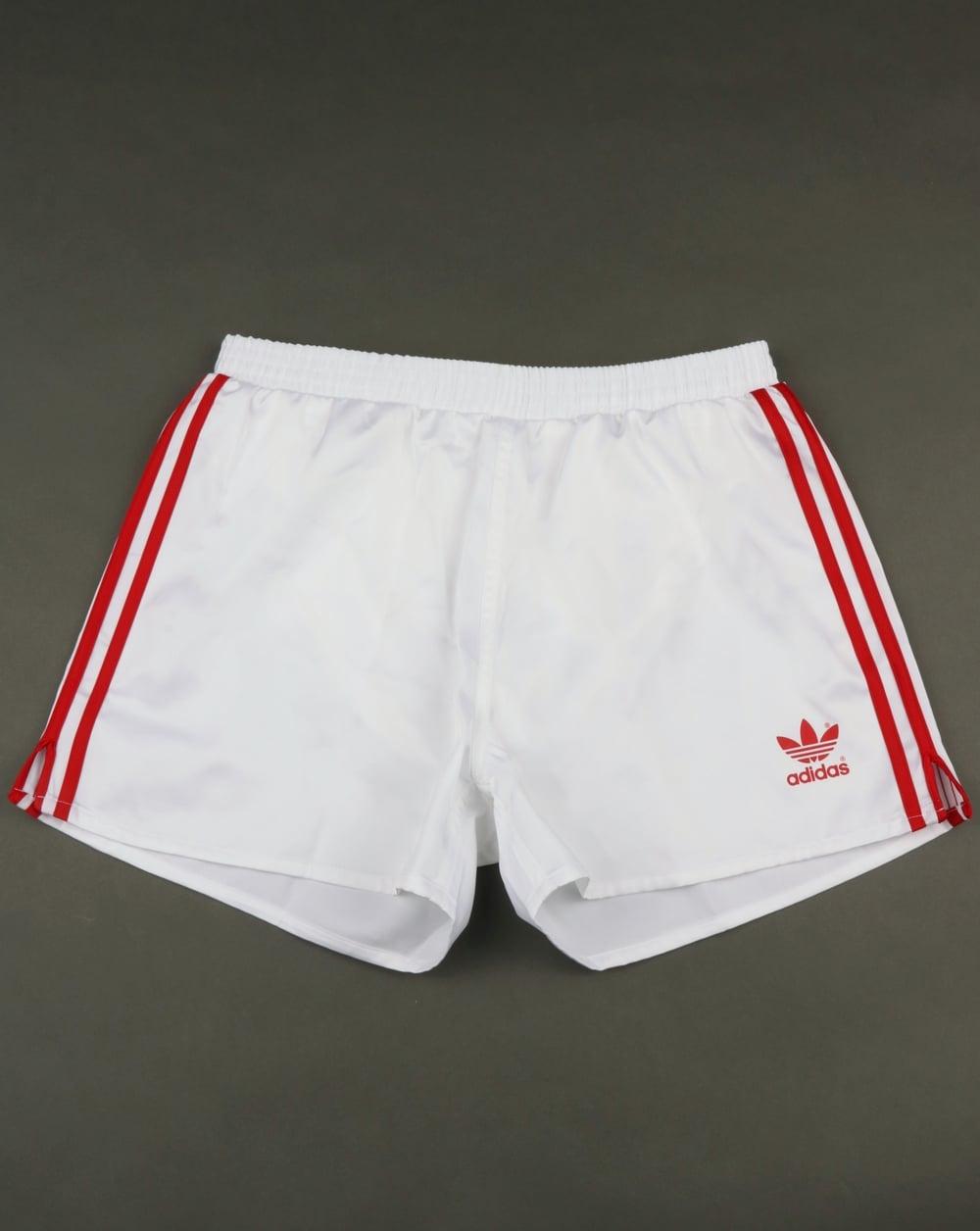 bce459f196 Adidas Originals Russia Shorts White,football,retro,mens,shiny