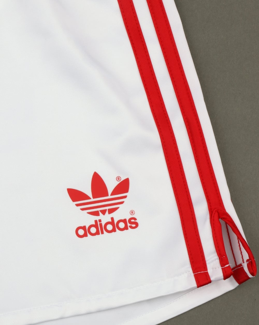 Adidas Originals Retro 90s Shorts White red