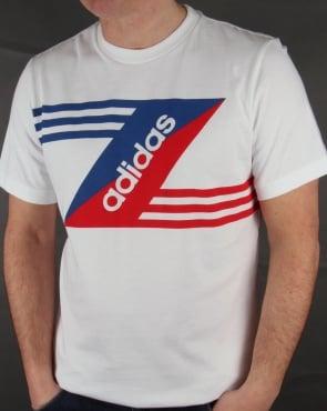 Adidas Originals Retro Linear Logo T-shirt White