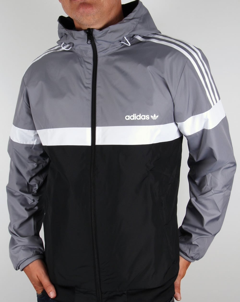 Buy adidas jacket Black >off62%)