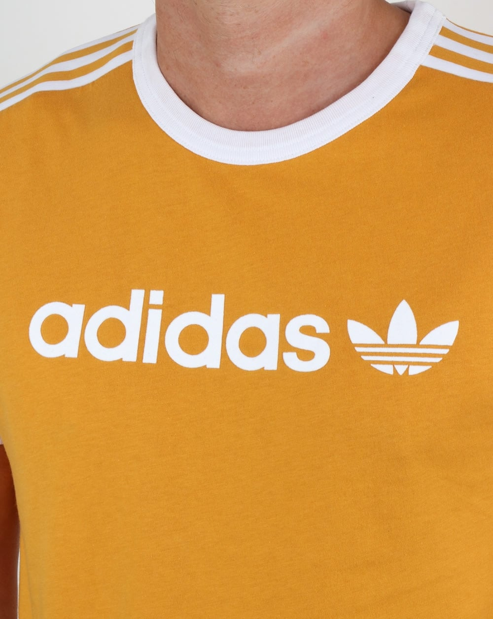 adidas california t shirt gold