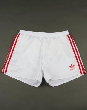 Adidas Originals Russia Shorts White