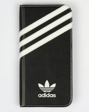 Adidas Originals Samsung Galaxy S6 Booklet Case Black/White