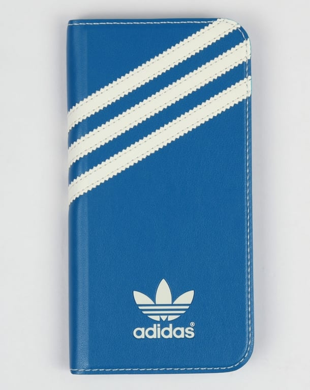 Adidas Originals Samsung Galaxy S6 Booklet Case Bluebird Blue/White