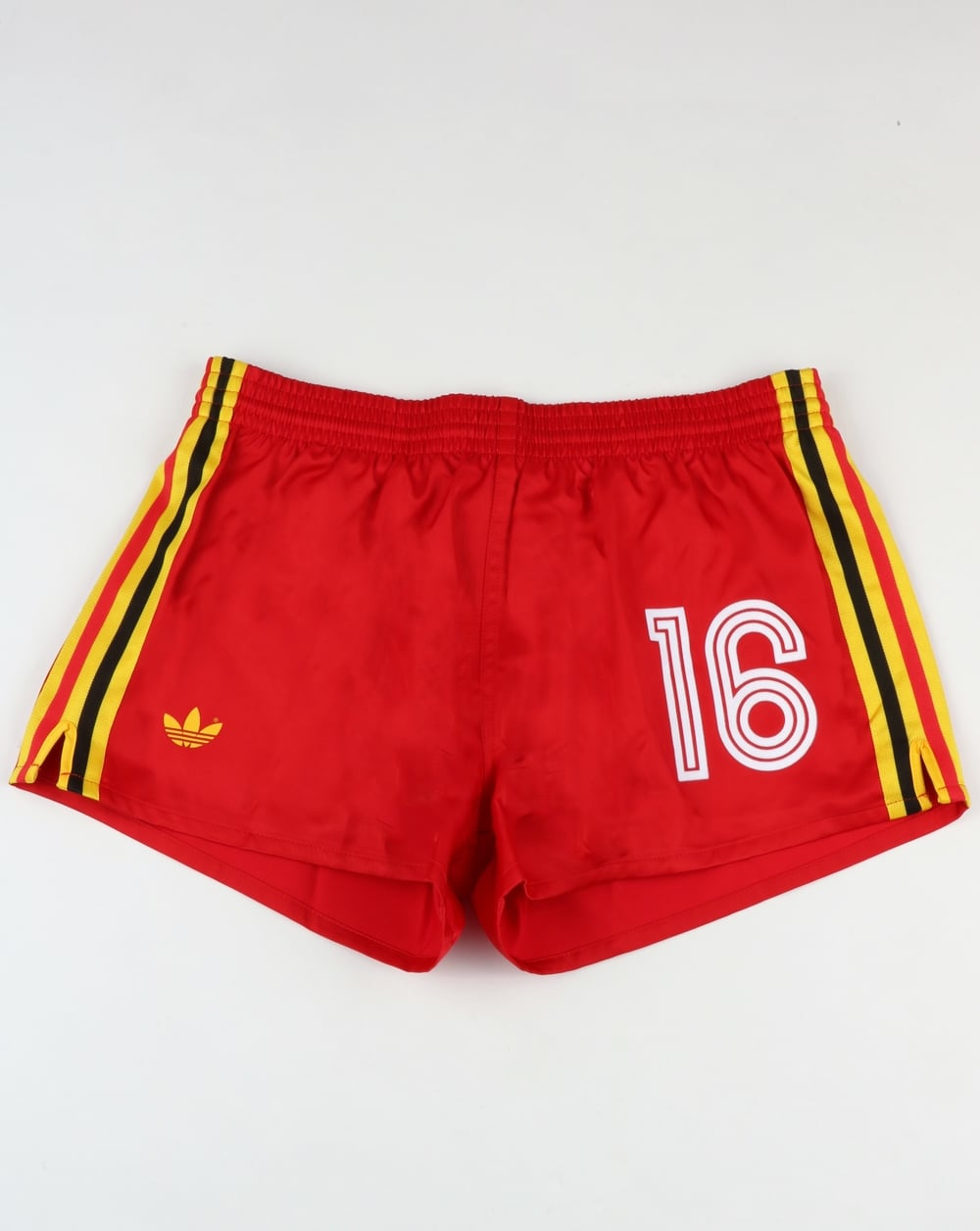 eee60811fb Adidas Originals Belgium Shorts Victory Red,football,retro,shiny,mens