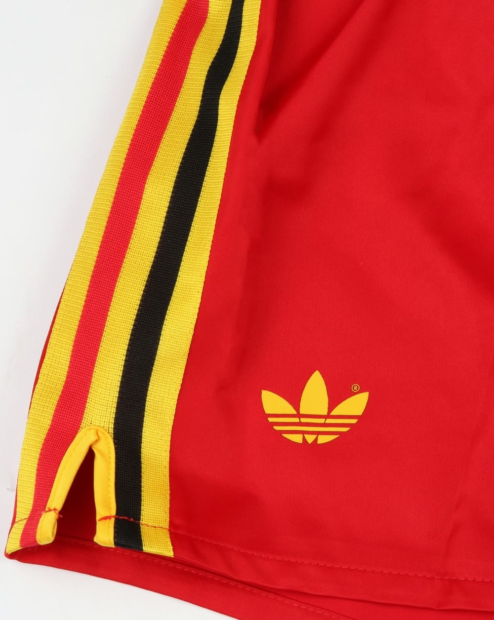 c98640a2f Adidas Originals Belgium Shorts Victory Red,football,retro,shiny,mens