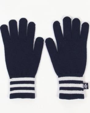 Adidas Originals Smart Phone Gloves Navy