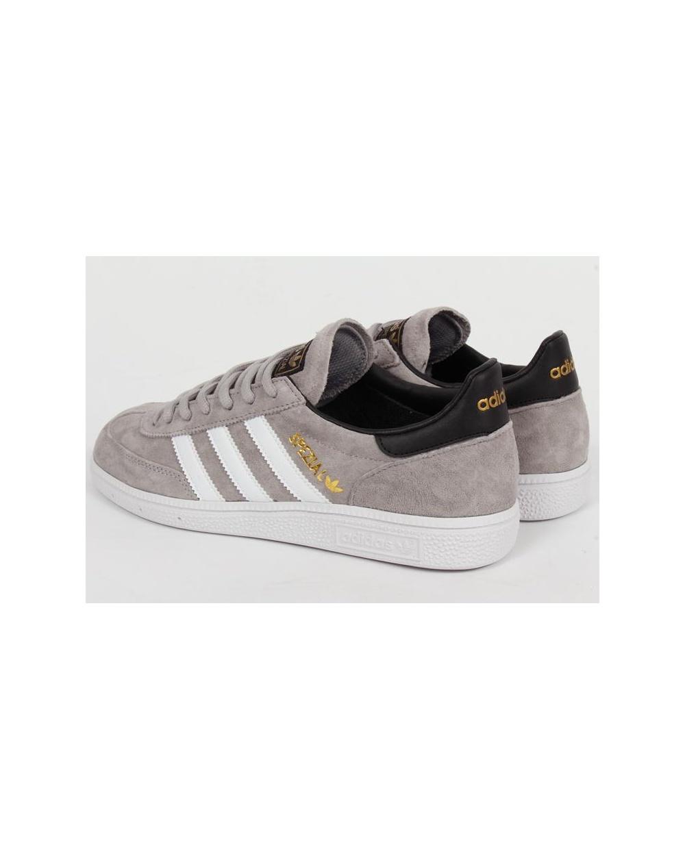 Adidas originali spezial formatori solido grigio / bianco