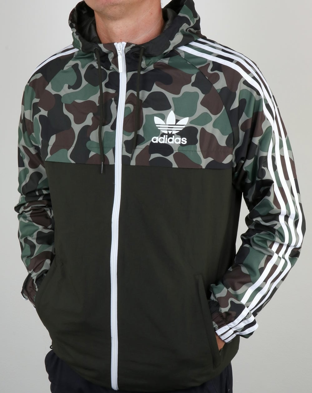 adidas originals camo reversible windbreaker mens. Black Bedroom Furniture Sets. Home Design Ideas