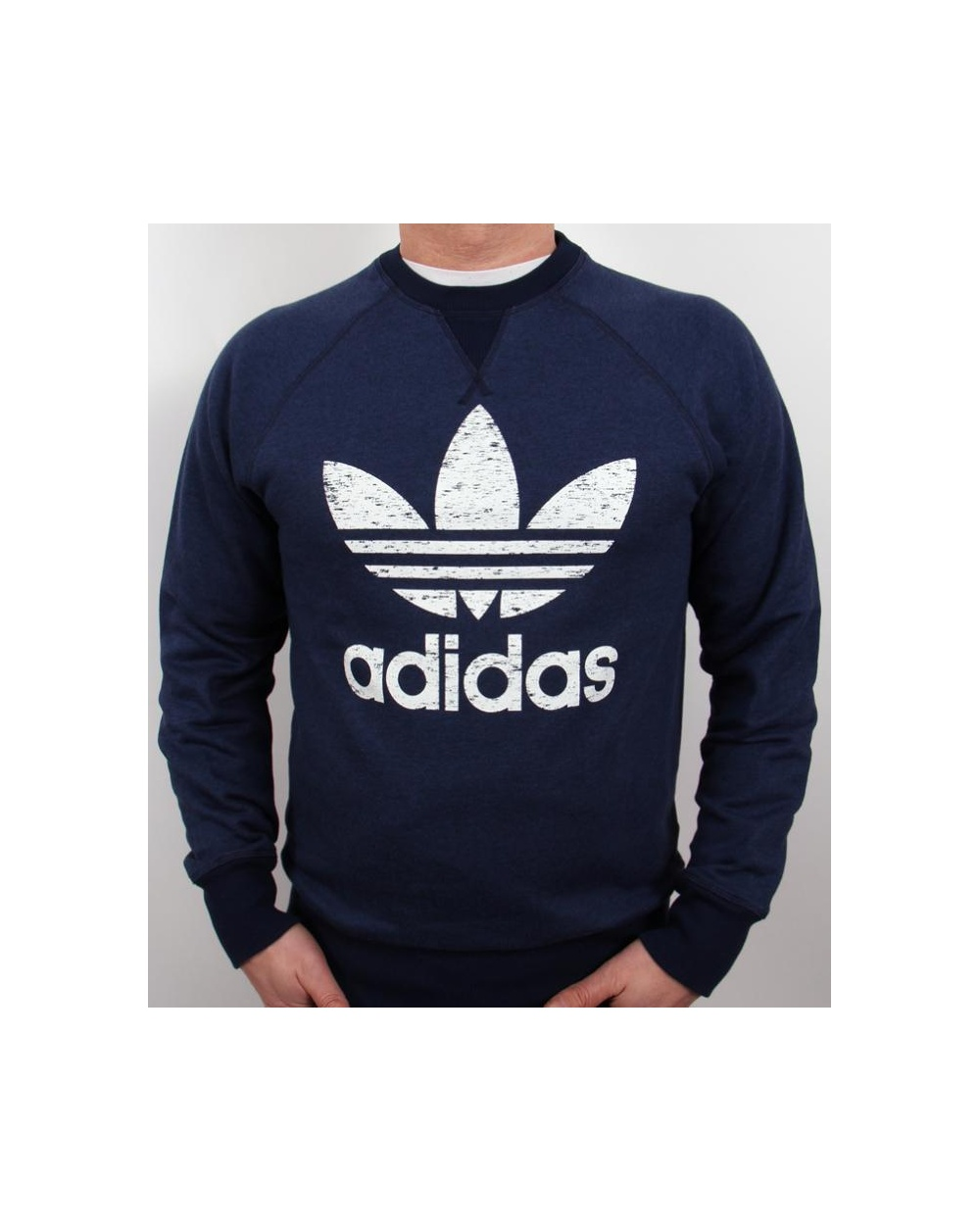adidas originals sports essential crew neck sweatshirt. Black Bedroom Furniture Sets. Home Design Ideas